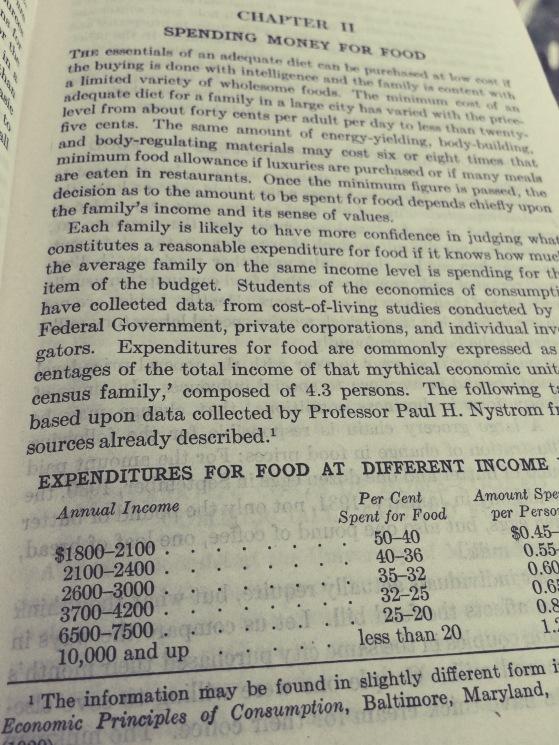 old fashioned home economics