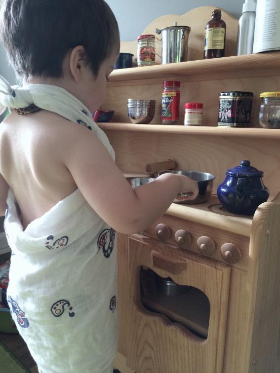 toddler waldorf kitchen